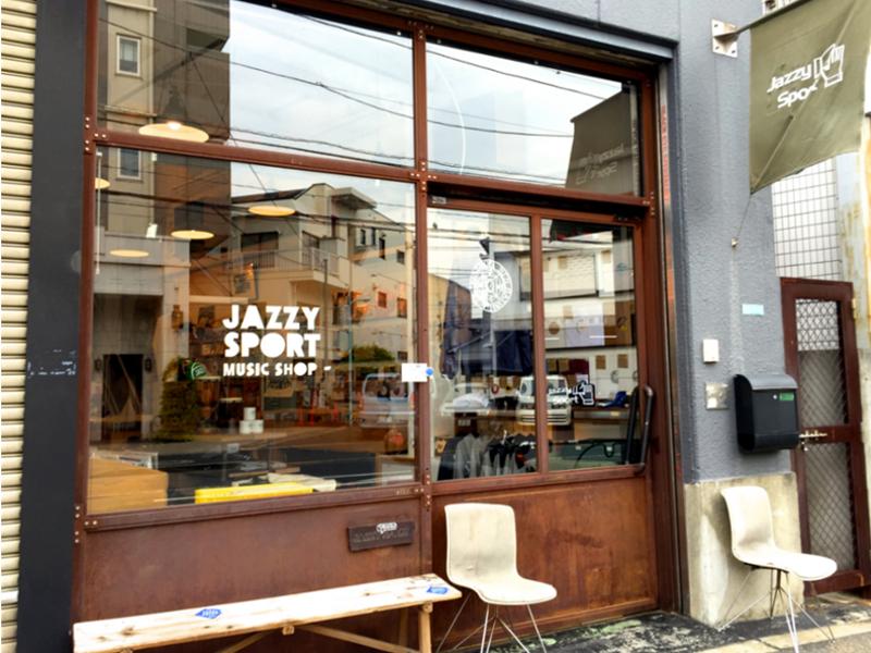 jazzy sport music shop tokyo